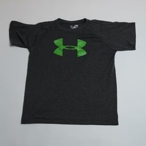 Under Armour gray t-shirt Sz: Youth Large